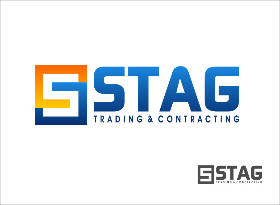 Logo Design by RoSyid Rono-Rene On Java - Entry No. 279 in the Logo Design Contest Captivating Logo Design for STAG Trading & Contracting.