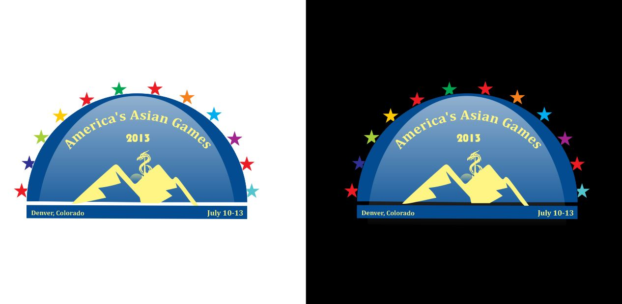 Logo Design by Tenstar Design - Entry No. 36 in the Logo Design Contest New Logo Design for America's Asian Games.