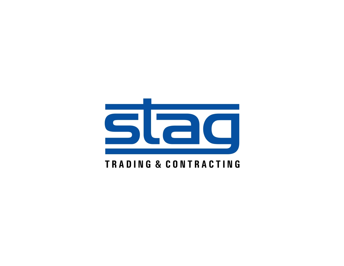 Logo Design by haidu - Entry No. 282 in the Logo Design Contest Captivating Logo Design for STAG Trading & Contracting.