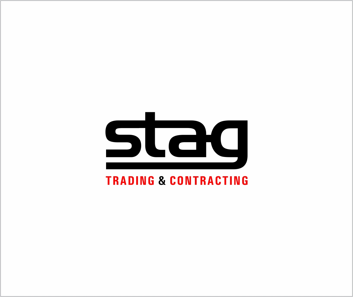 Logo Design by haidu - Entry No. 285 in the Logo Design Contest Captivating Logo Design for STAG Trading & Contracting.