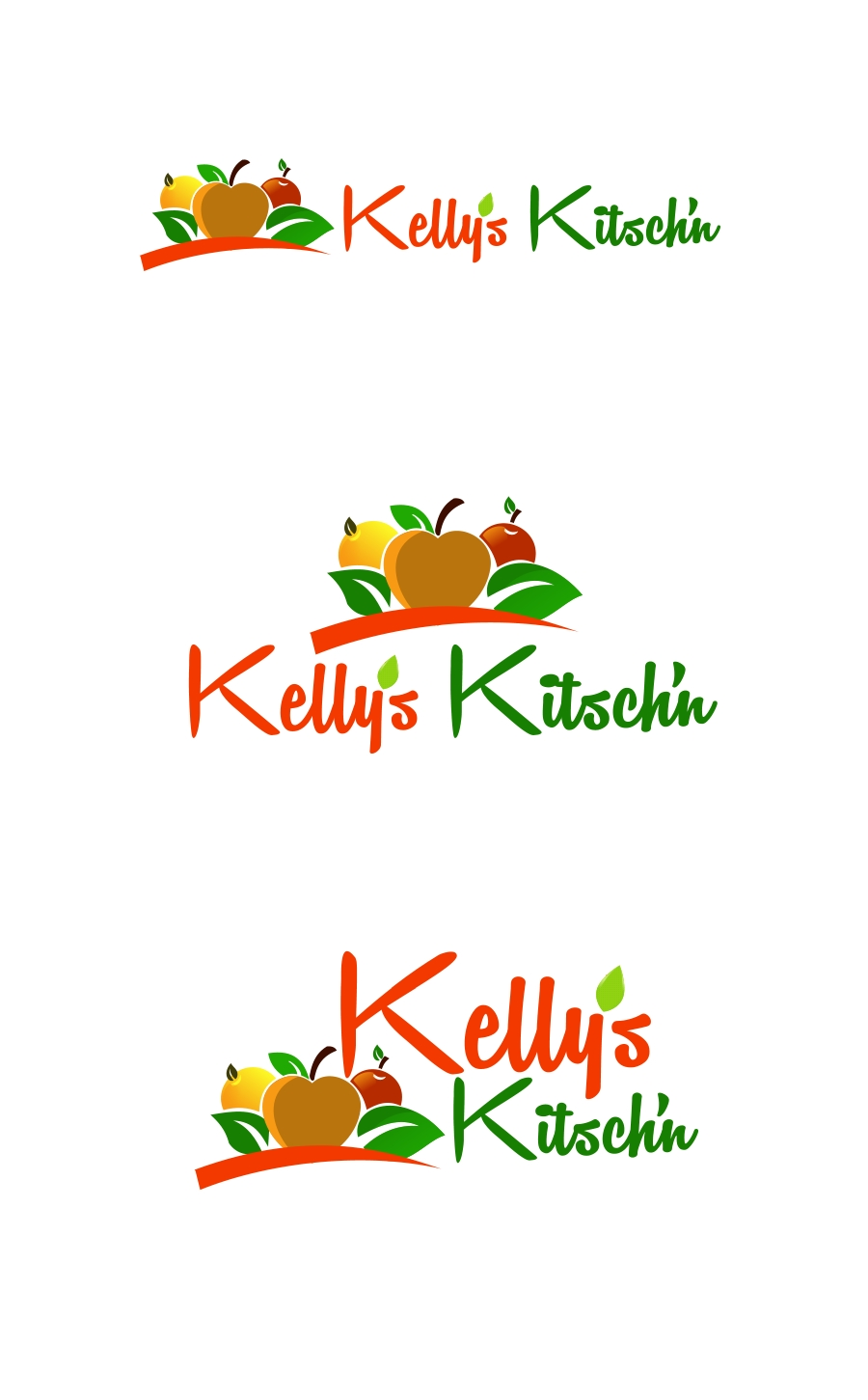 Logo Design by Private User - Entry No. 36 in the Logo Design Contest Unique Logo Design Wanted for Kelly's Kitsch'n.