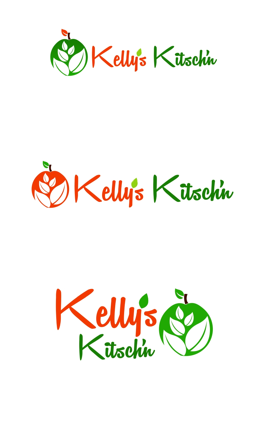 Logo Design by Private User - Entry No. 37 in the Logo Design Contest Unique Logo Design Wanted for Kelly's Kitsch'n.