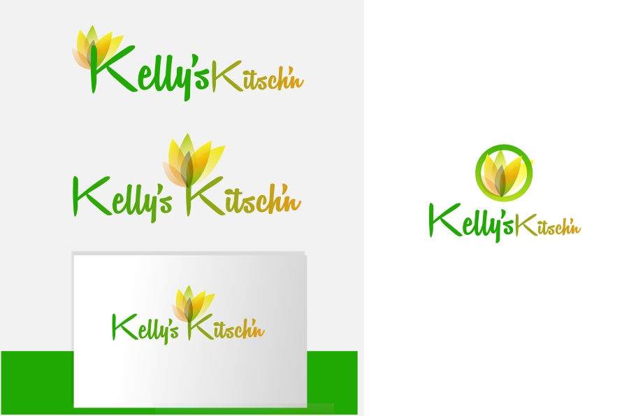 Logo Design by Private User - Entry No. 38 in the Logo Design Contest Unique Logo Design Wanted for Kelly's Kitsch'n.