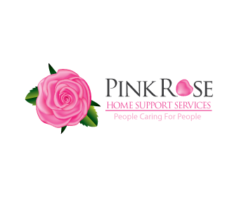 Logo Design by   - Entry No. 89 in the Logo Design Contest Pink Rose Home Support Services.