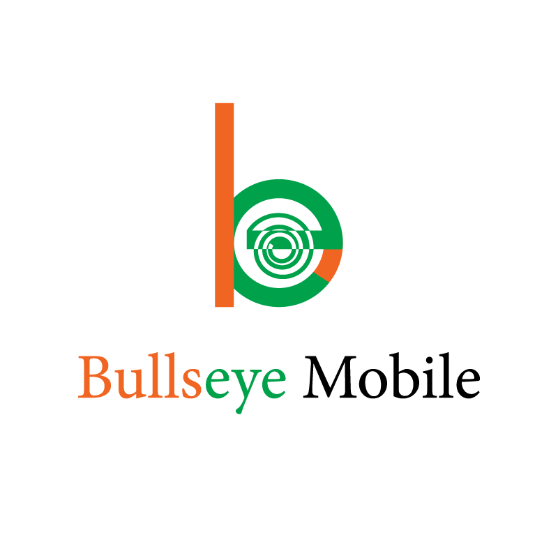 Logo Design by rei - Entry No. 136 in the Logo Design Contest Bullseye Mobile.