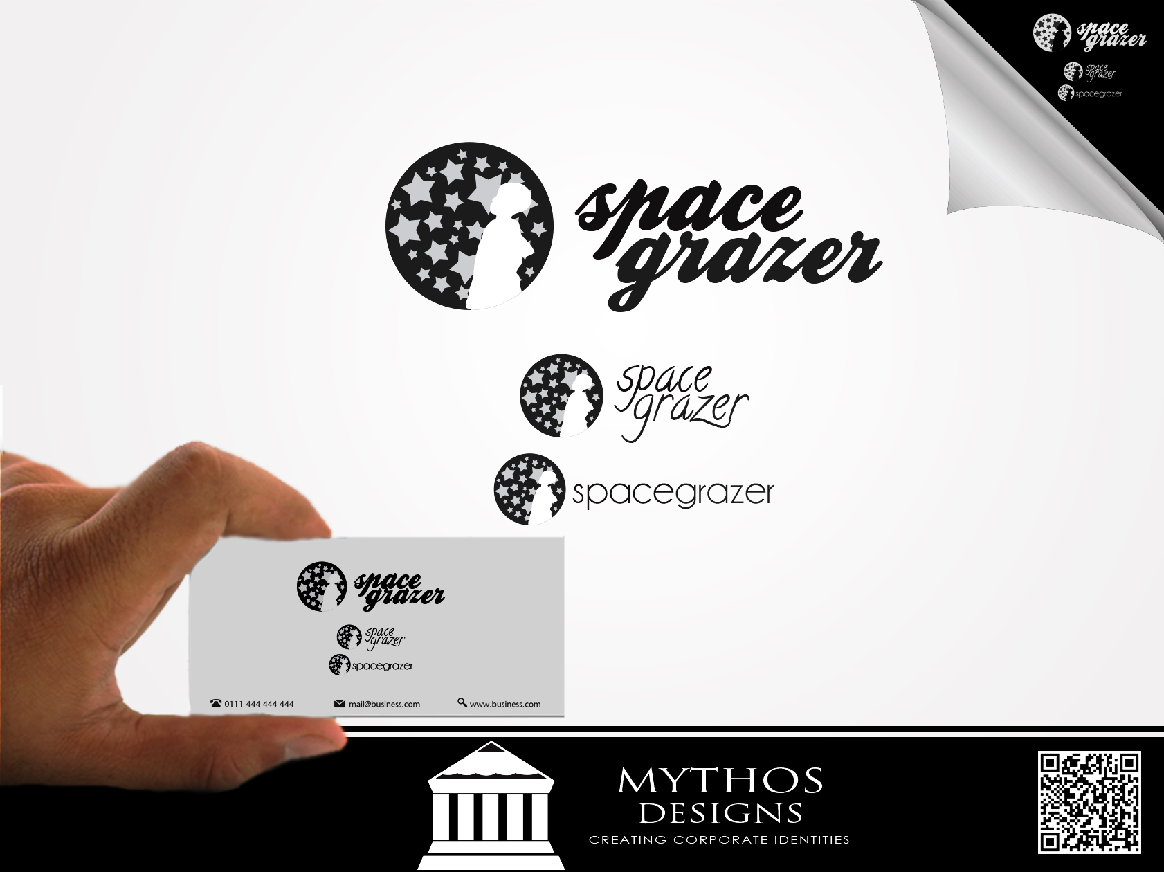 Logo Design by Mythos Designs - Entry No. 28 in the Logo Design Contest Fun Logo Design for Spacegrazer.
