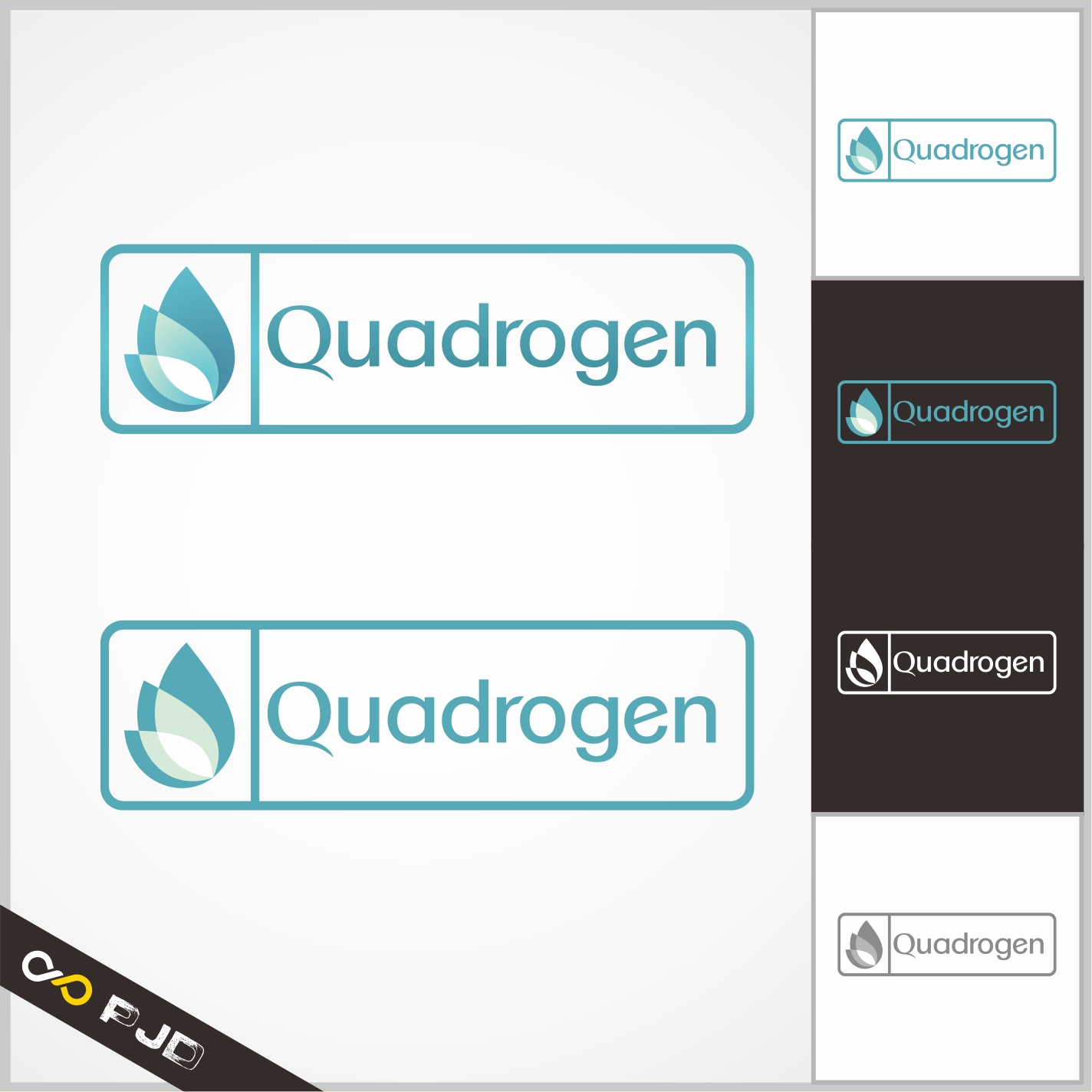 Logo Design by PJD - Entry No. 135 in the Logo Design Contest New Logo Design for Quadrogen Power Systems, Inc.