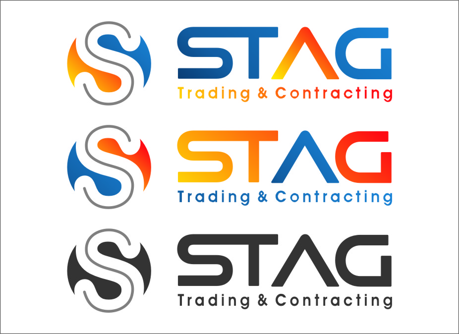 Logo Design by Ngepet_art - Entry No. 288 in the Logo Design Contest Captivating Logo Design for STAG Trading & Contracting.