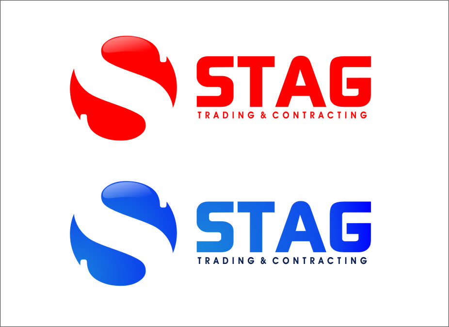 Logo Design by RasYa Muhammad Athaya - Entry No. 289 in the Logo Design Contest Captivating Logo Design for STAG Trading & Contracting.