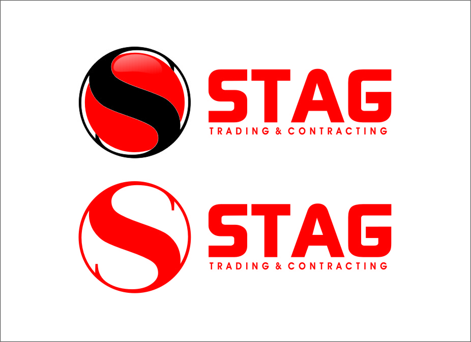 Logo Design by Ngepet_art - Entry No. 290 in the Logo Design Contest Captivating Logo Design for STAG Trading & Contracting.