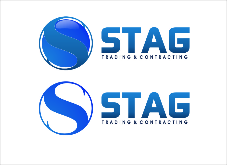 Logo Design by RoSyid Rono-Rene On Java - Entry No. 291 in the Logo Design Contest Captivating Logo Design for STAG Trading & Contracting.