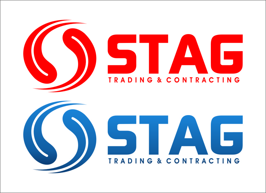 Logo Design by RasYa Muhammad Athaya - Entry No. 292 in the Logo Design Contest Captivating Logo Design for STAG Trading & Contracting.