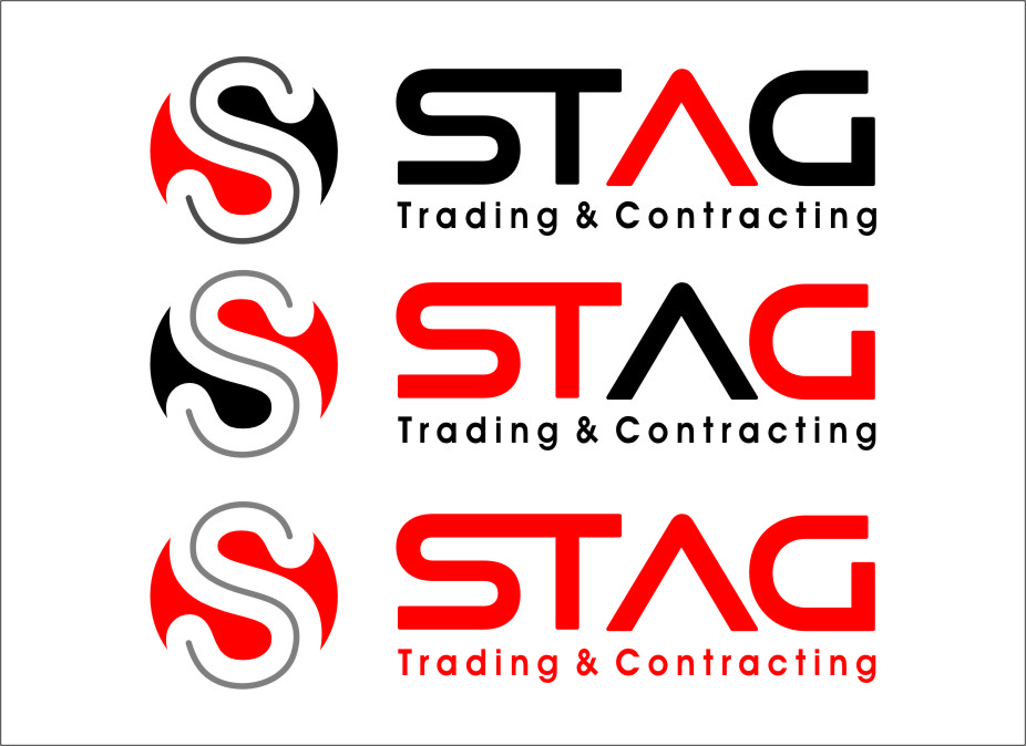 Logo Design by RasYa Muhammad Athaya - Entry No. 293 in the Logo Design Contest Captivating Logo Design for STAG Trading & Contracting.