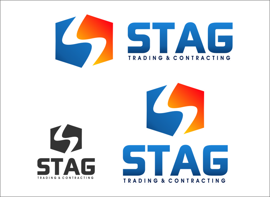 Logo Design by RasYa Muhammad Athaya - Entry No. 294 in the Logo Design Contest Captivating Logo Design for STAG Trading & Contracting.
