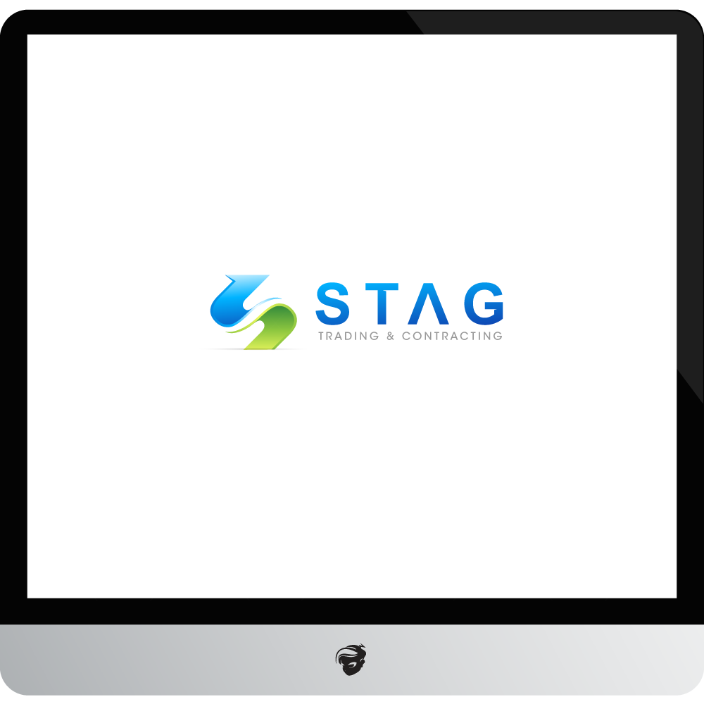 Logo Design by zesthar - Entry No. 295 in the Logo Design Contest Captivating Logo Design for STAG Trading & Contracting.