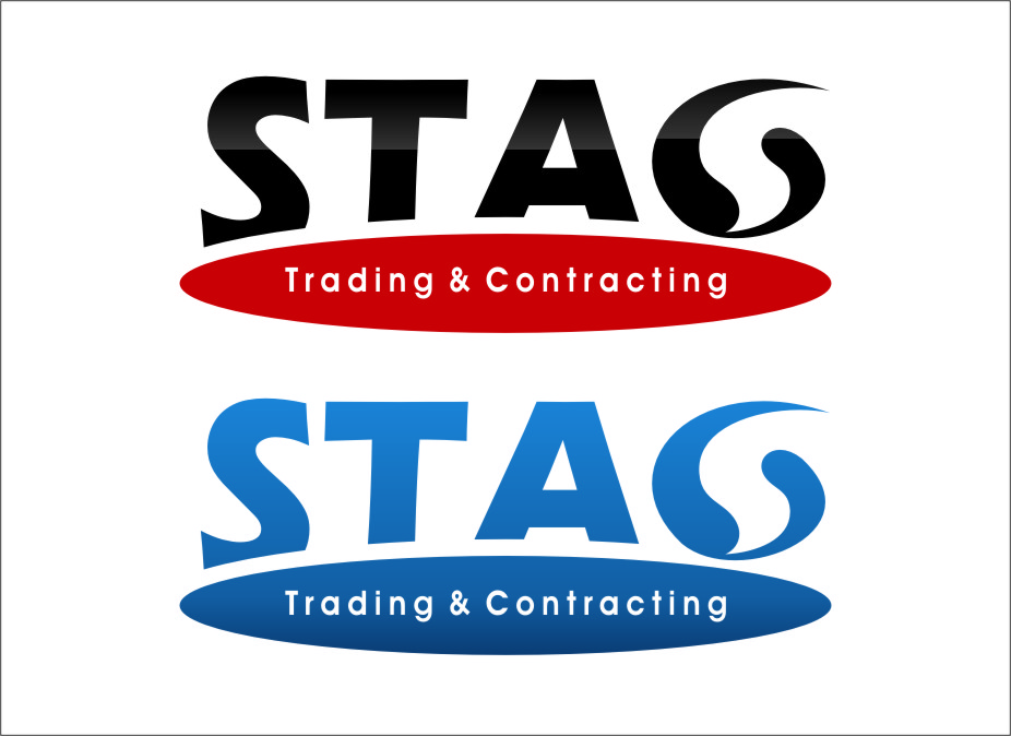 Logo Design by RasYa Muhammad Athaya - Entry No. 297 in the Logo Design Contest Captivating Logo Design for STAG Trading & Contracting.