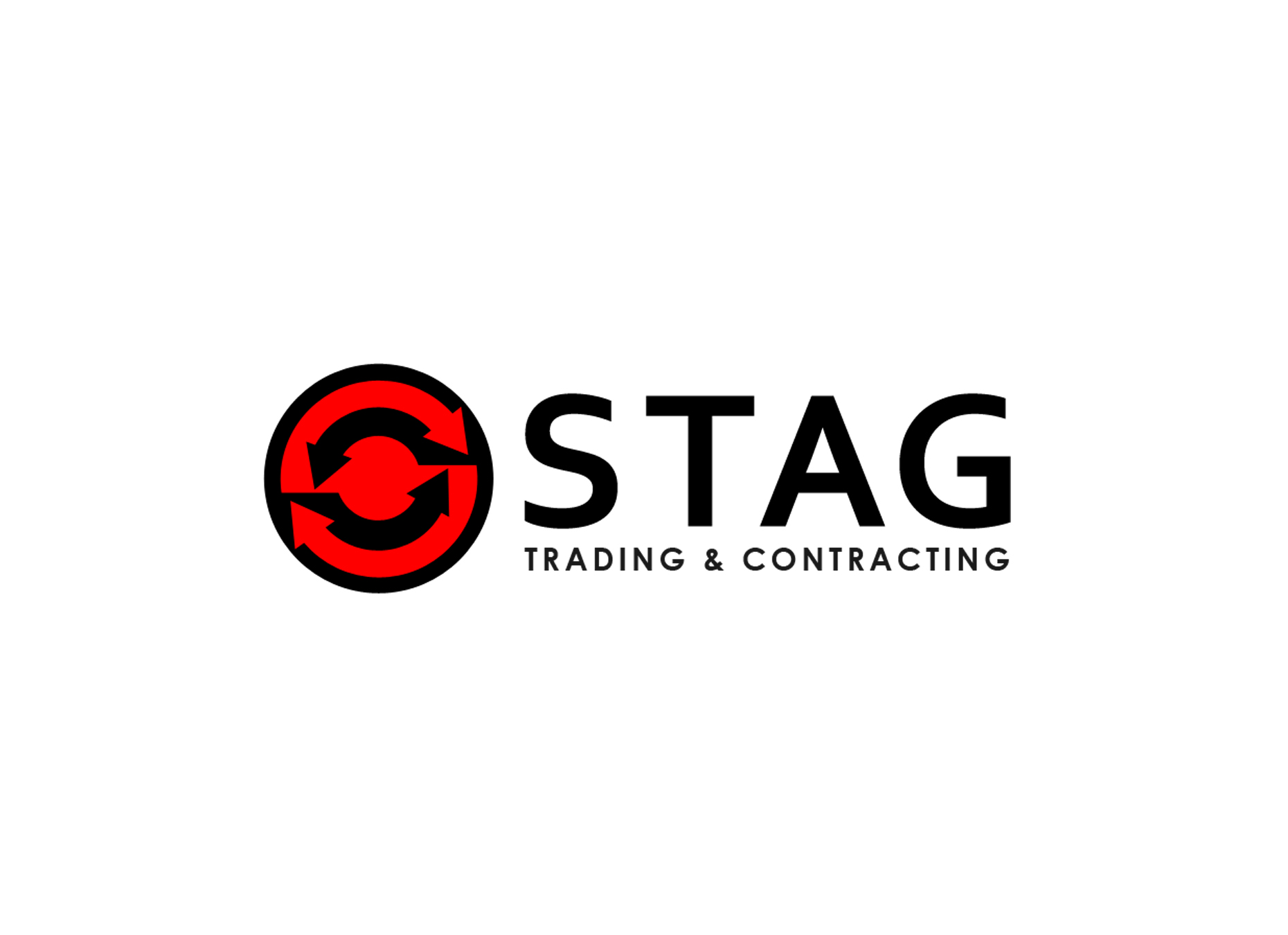 Logo Design by omARTist - Entry No. 298 in the Logo Design Contest Captivating Logo Design for STAG Trading & Contracting.