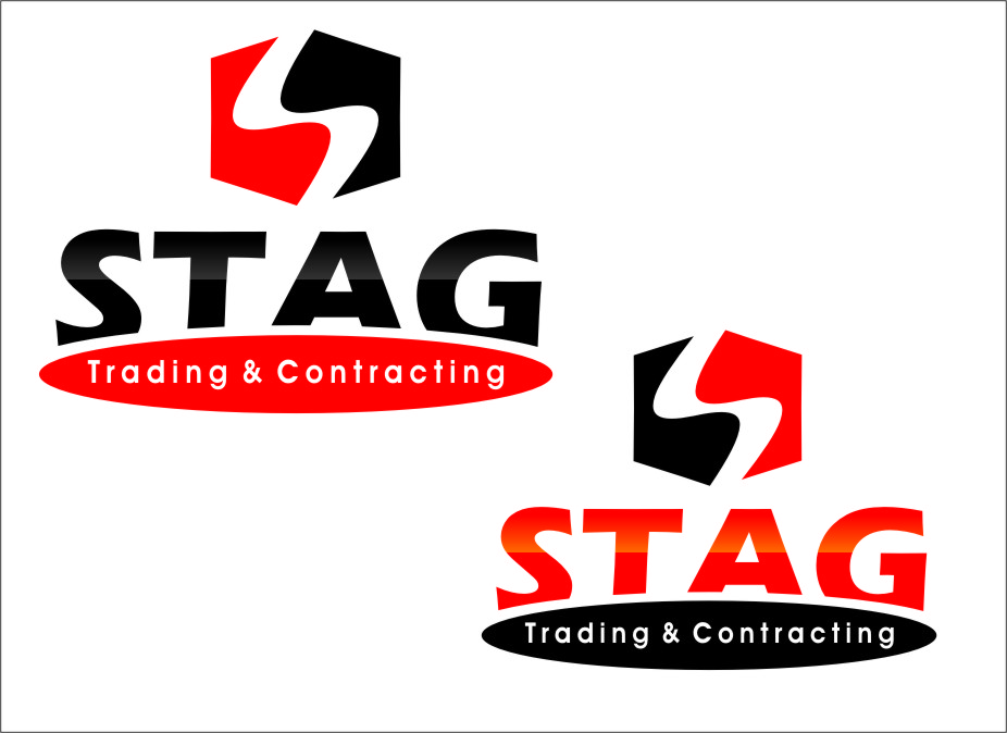 Logo Design by RasYa Muhammad Athaya - Entry No. 299 in the Logo Design Contest Captivating Logo Design for STAG Trading & Contracting.