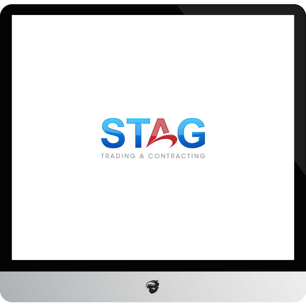 Logo Design by zesthar - Entry No. 300 in the Logo Design Contest Captivating Logo Design for STAG Trading & Contracting.