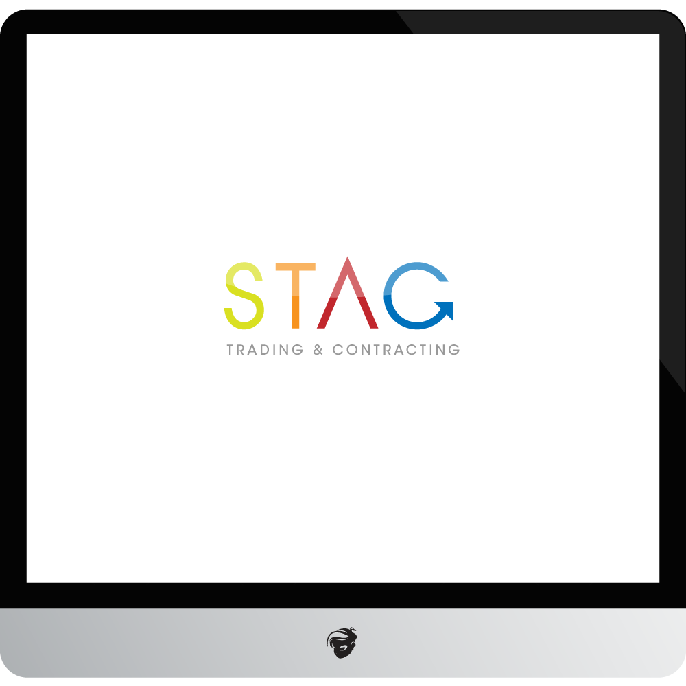 Logo Design by zesthar - Entry No. 301 in the Logo Design Contest Captivating Logo Design for STAG Trading & Contracting.