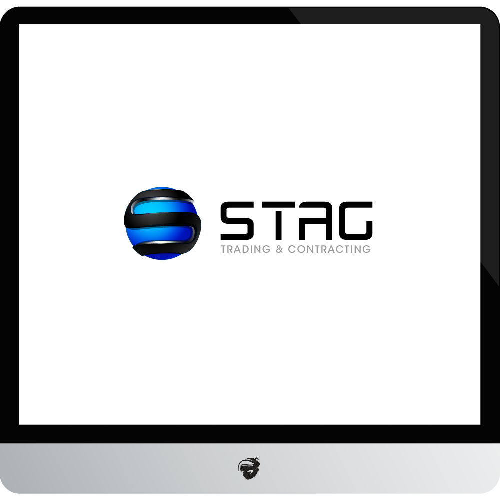 Logo Design by zesthar - Entry No. 304 in the Logo Design Contest Captivating Logo Design for STAG Trading & Contracting.