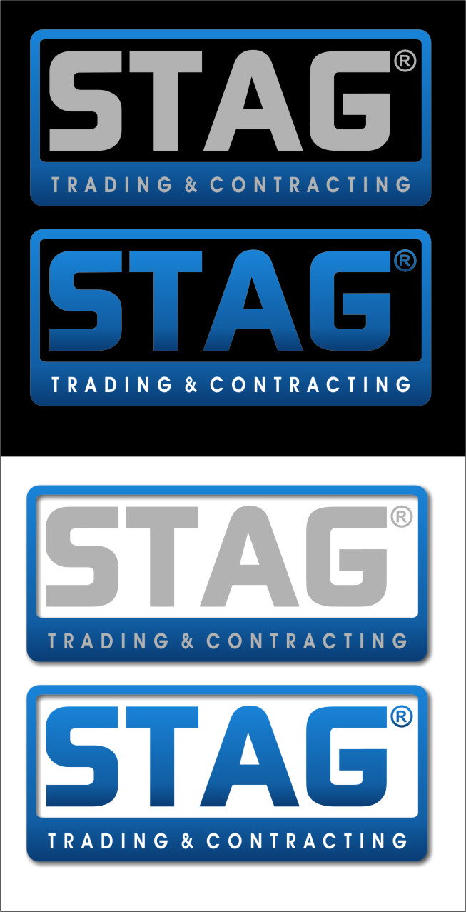 Logo Design by RoSyid Rono-Rene On Java - Entry No. 309 in the Logo Design Contest Captivating Logo Design for STAG Trading & Contracting.
