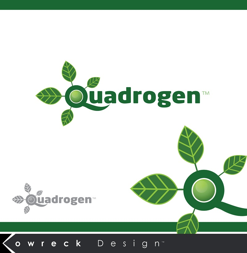 Logo Design by kowreck - Entry No. 145 in the Logo Design Contest New Logo Design for Quadrogen Power Systems, Inc.
