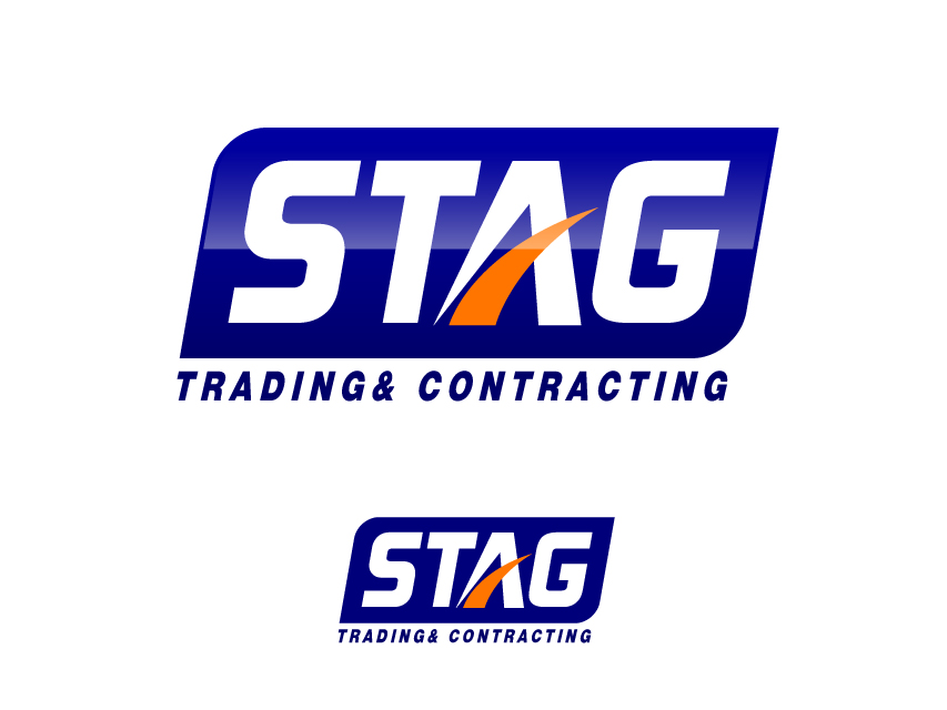 Logo Design by Richard Soriano - Entry No. 312 in the Logo Design Contest Captivating Logo Design for STAG Trading & Contracting.