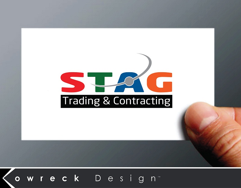 Logo Design by kowreck - Entry No. 313 in the Logo Design Contest Captivating Logo Design for STAG Trading & Contracting.