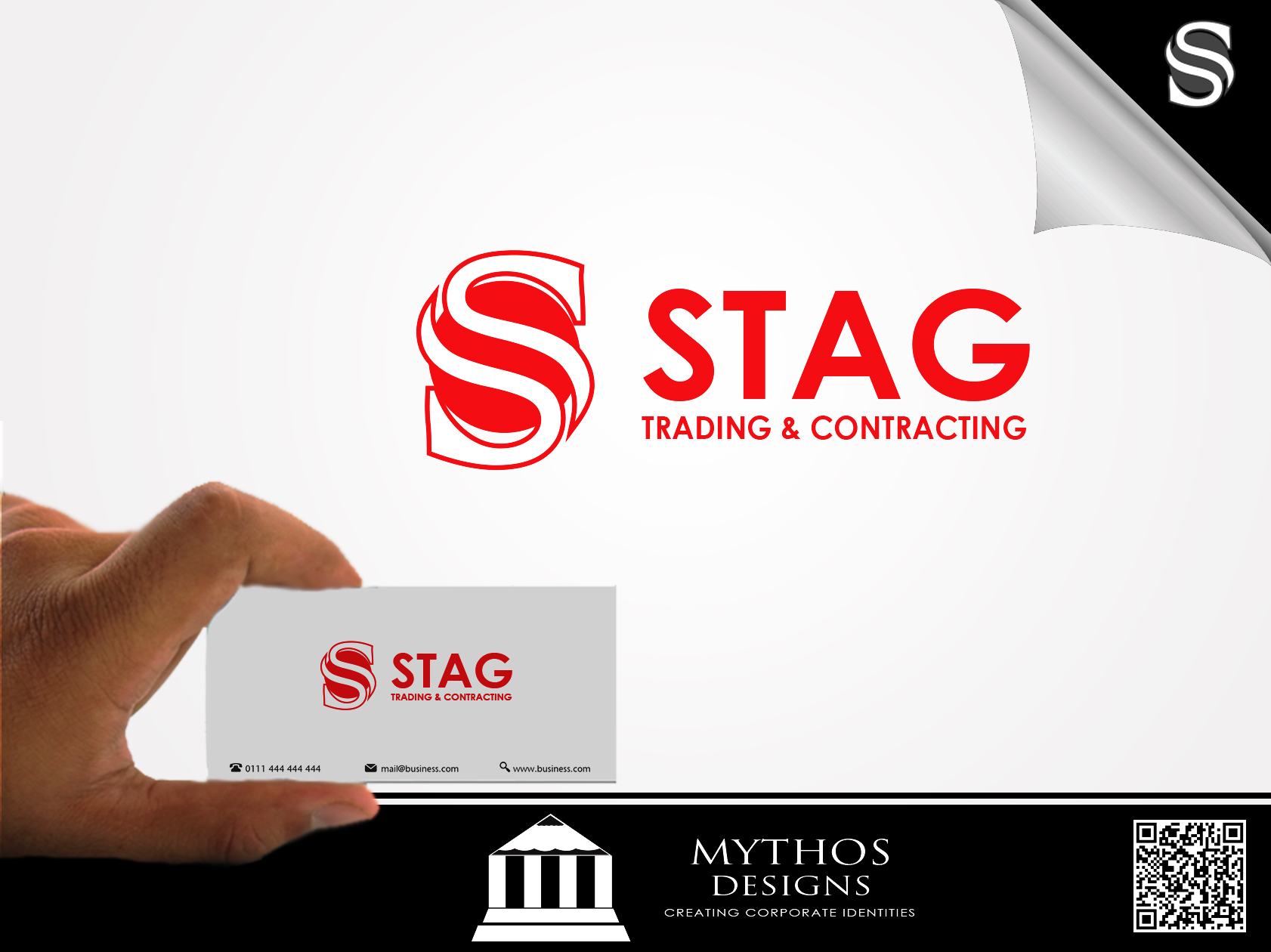 Logo Design by Mythos Designs - Entry No. 314 in the Logo Design Contest Captivating Logo Design for STAG Trading & Contracting.