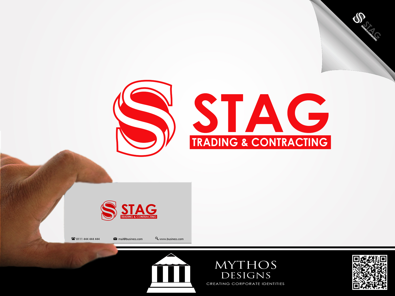 Logo Design by Mythos Designs - Entry No. 317 in the Logo Design Contest Captivating Logo Design for STAG Trading & Contracting.