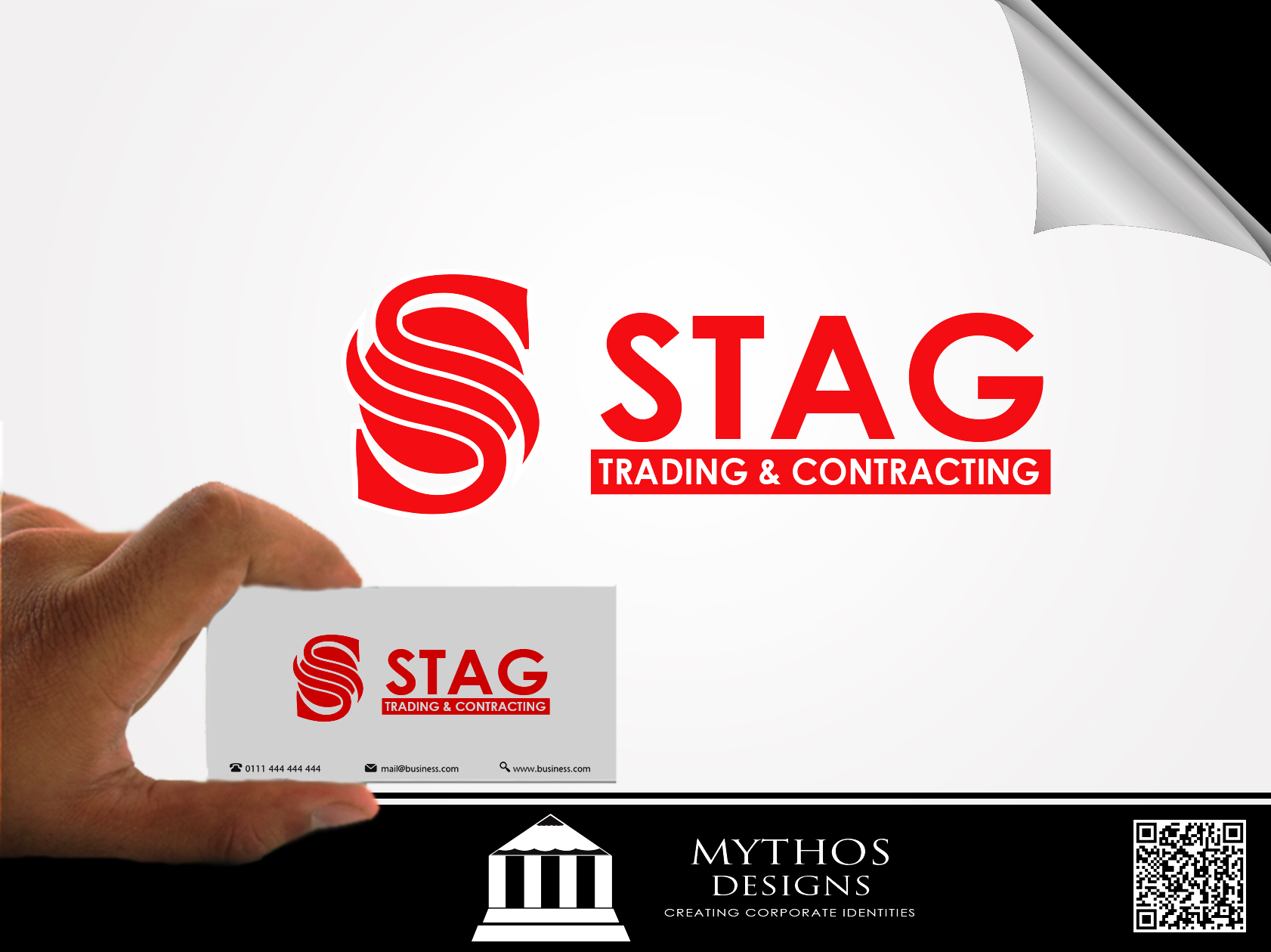 Logo Design by Mythos Designs - Entry No. 318 in the Logo Design Contest Captivating Logo Design for STAG Trading & Contracting.