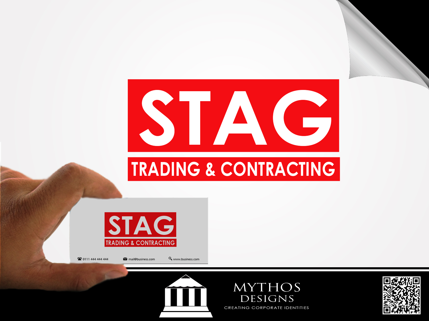 Logo Design by Mythos Designs - Entry No. 320 in the Logo Design Contest Captivating Logo Design for STAG Trading & Contracting.