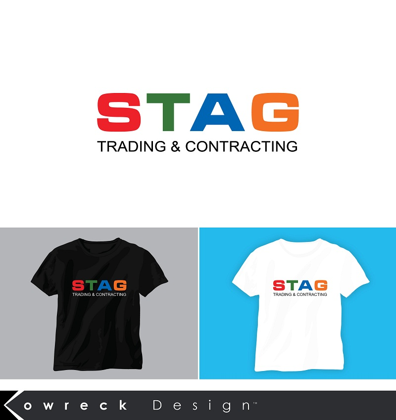 Logo Design by kowreck - Entry No. 321 in the Logo Design Contest Captivating Logo Design for STAG Trading & Contracting.