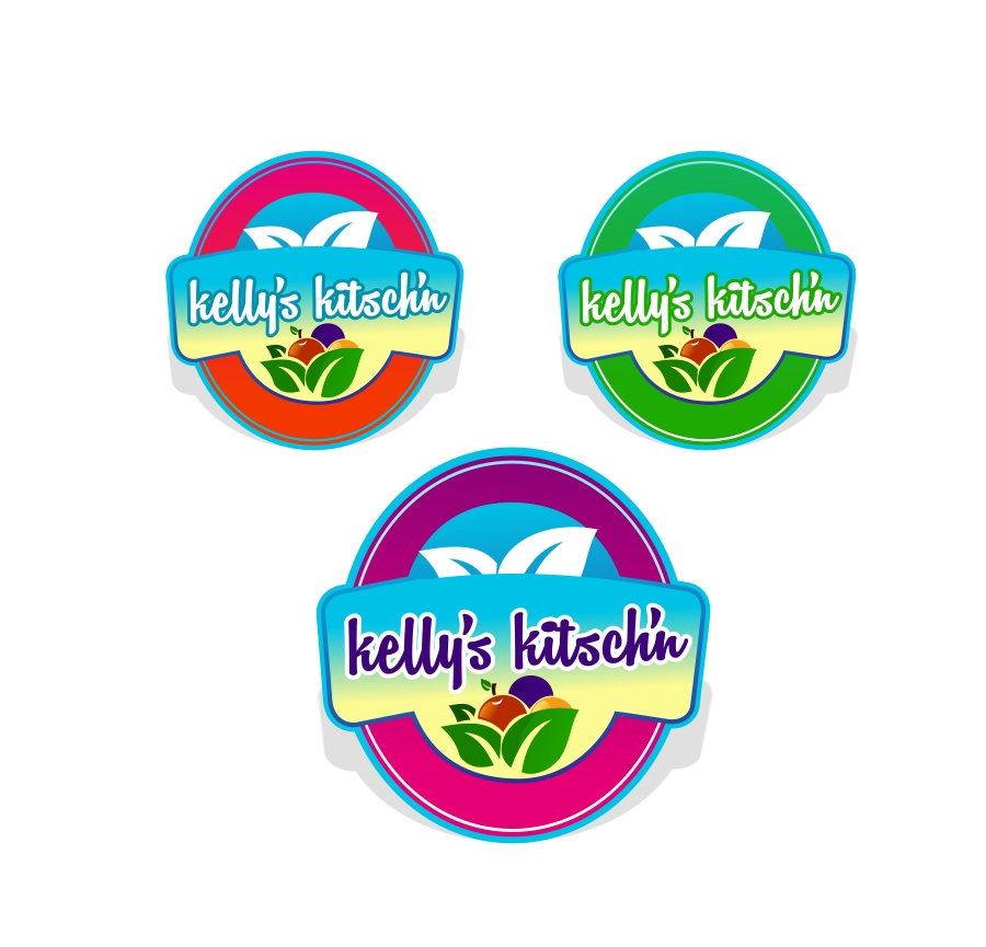 Logo Design by Private User - Entry No. 45 in the Logo Design Contest Unique Logo Design Wanted for Kelly's Kitsch'n.