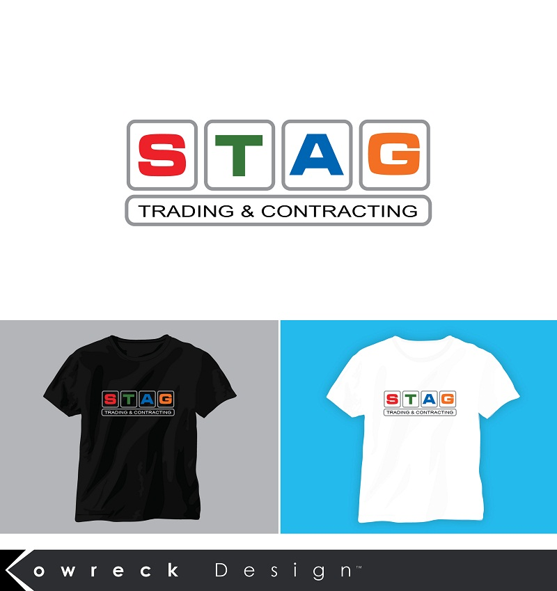 Logo Design by kowreck - Entry No. 322 in the Logo Design Contest Captivating Logo Design for STAG Trading & Contracting.