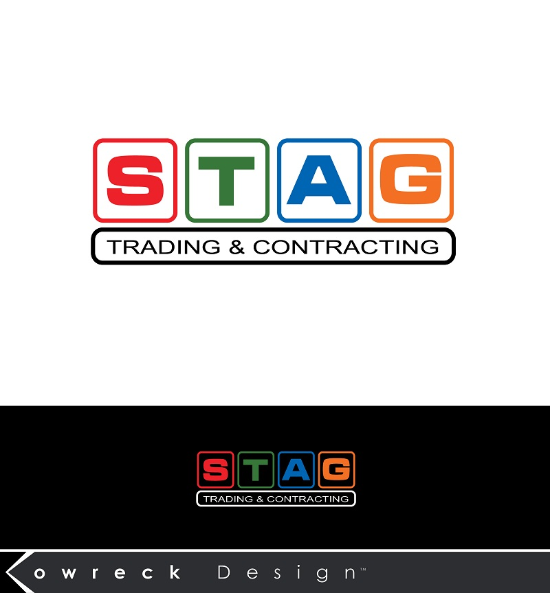 Logo Design by kowreck - Entry No. 323 in the Logo Design Contest Captivating Logo Design for STAG Trading & Contracting.