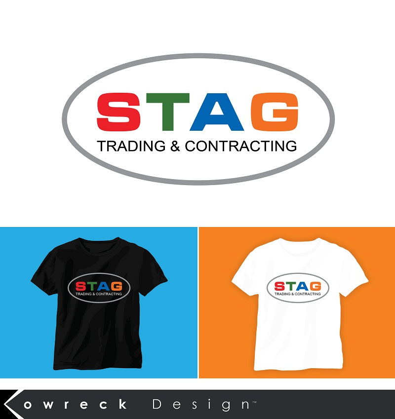 Logo Design by kowreck - Entry No. 324 in the Logo Design Contest Captivating Logo Design for STAG Trading & Contracting.