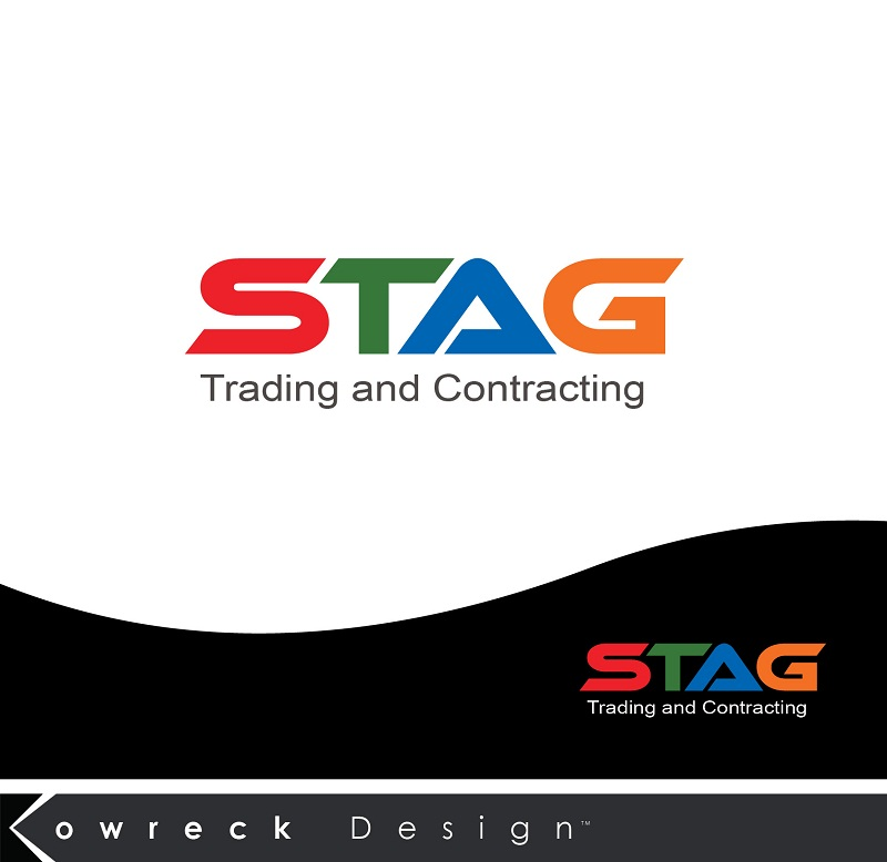 Logo Design by kowreck - Entry No. 325 in the Logo Design Contest Captivating Logo Design for STAG Trading & Contracting.