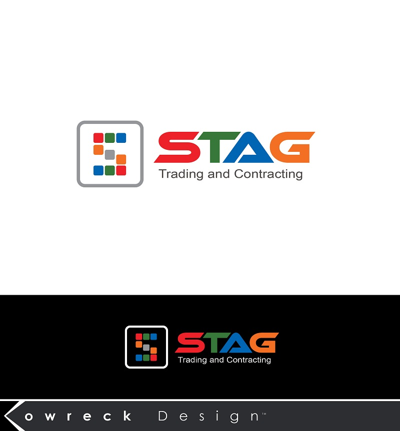 Logo Design by kowreck - Entry No. 327 in the Logo Design Contest Captivating Logo Design for STAG Trading & Contracting.