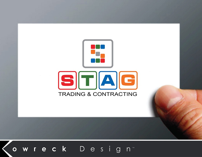 Logo Design by kowreck - Entry No. 328 in the Logo Design Contest Captivating Logo Design for STAG Trading & Contracting.