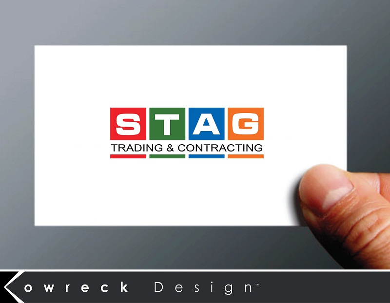 Logo Design by kowreck - Entry No. 330 in the Logo Design Contest Captivating Logo Design for STAG Trading & Contracting.