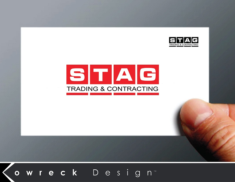 Logo Design by kowreck - Entry No. 332 in the Logo Design Contest Captivating Logo Design for STAG Trading & Contracting.
