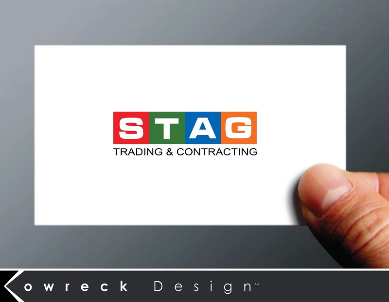 Logo Design by kowreck - Entry No. 333 in the Logo Design Contest Captivating Logo Design for STAG Trading & Contracting.
