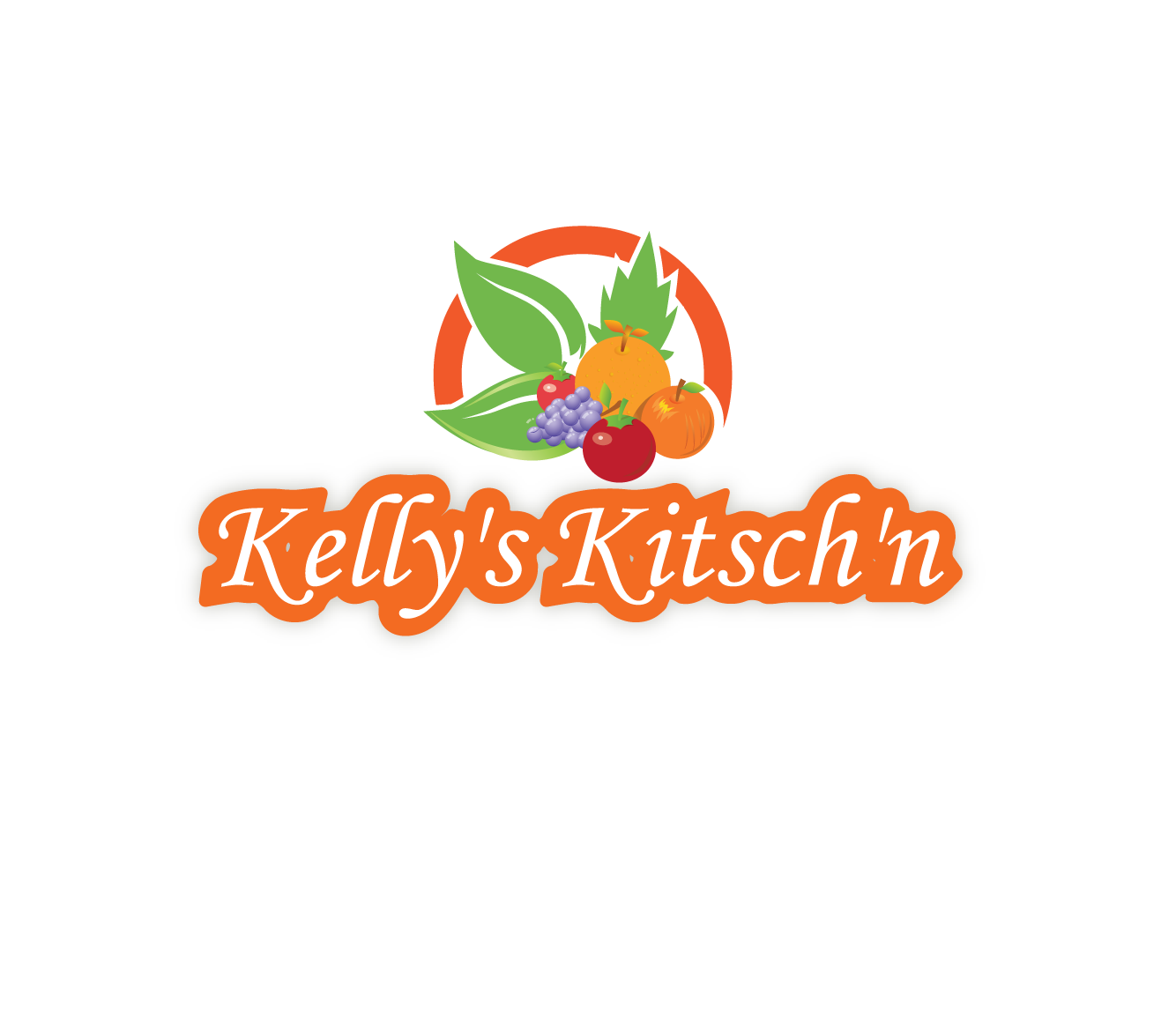 Logo Design by 354studio - Entry No. 53 in the Logo Design Contest Unique Logo Design Wanted for Kelly's Kitsch'n.