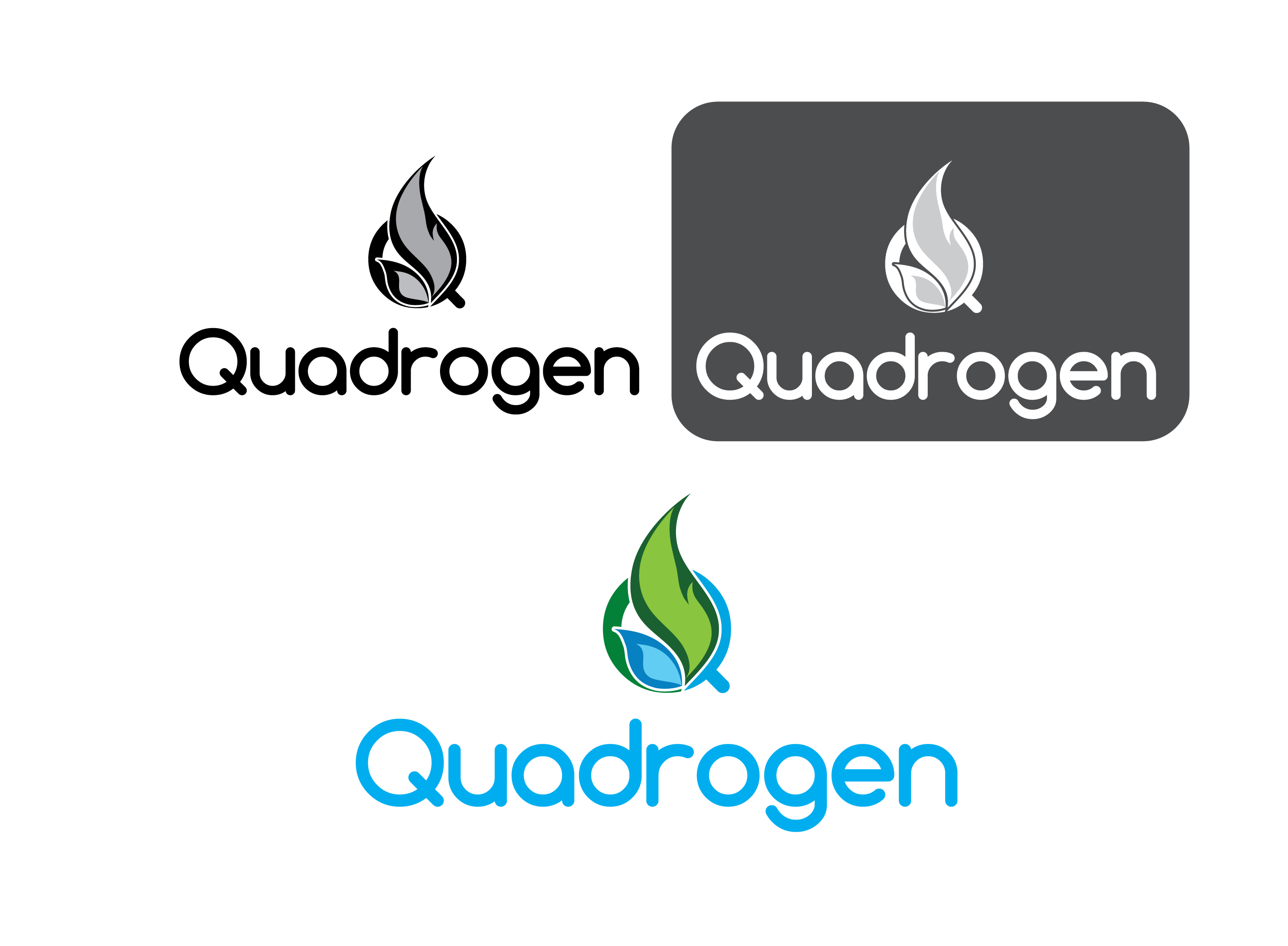 Logo Design by 354studio - Entry No. 152 in the Logo Design Contest New Logo Design for Quadrogen Power Systems, Inc.