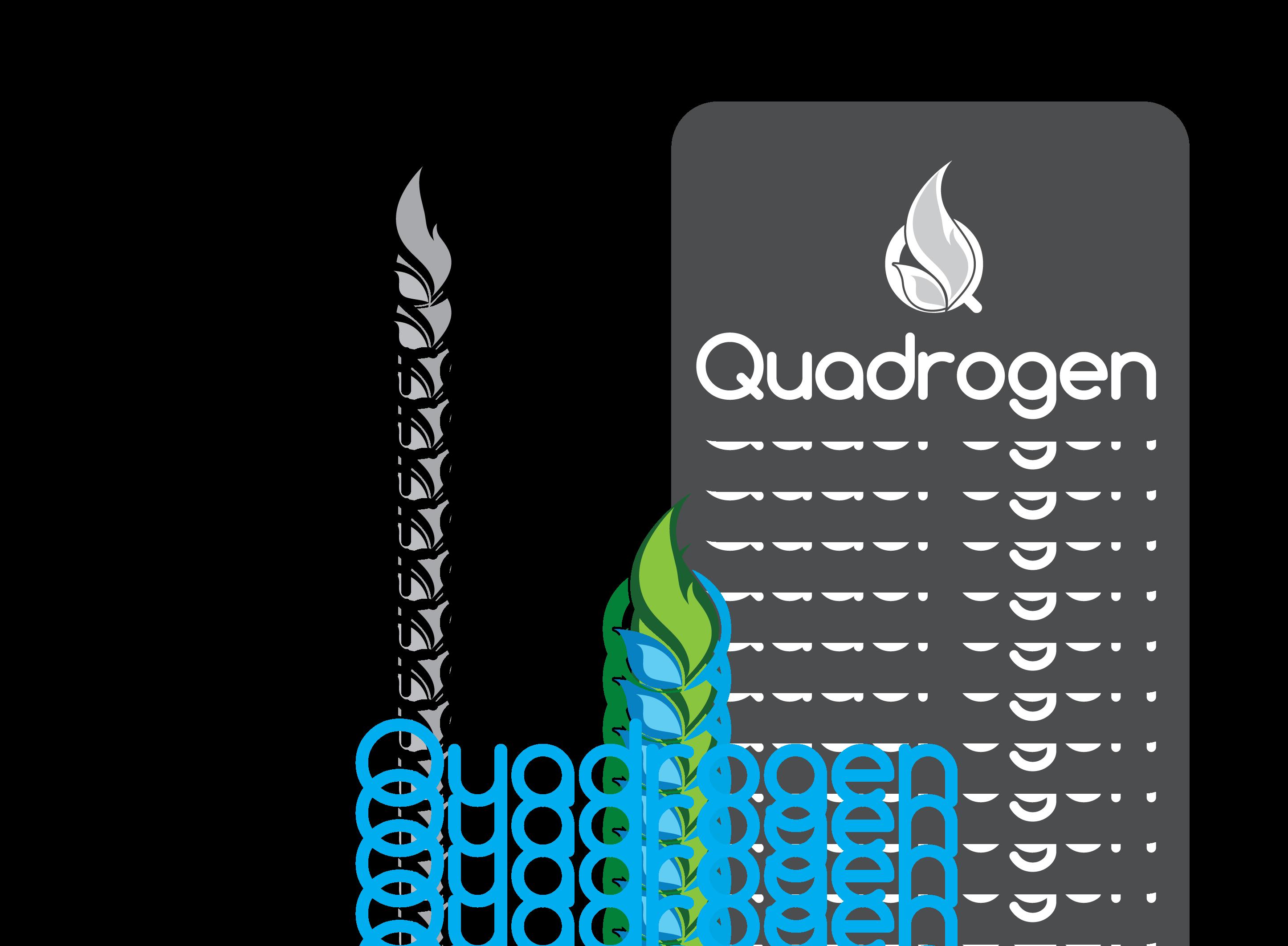 Logo Design by 354studio - Entry No. 152 in the Logo Design Contest New Logo Design for Quadrogen Power Systems, Inc.