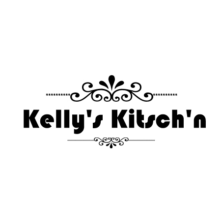 Logo Design by Crystal Desizns - Entry No. 55 in the Logo Design Contest Unique Logo Design Wanted for Kelly's Kitsch'n.