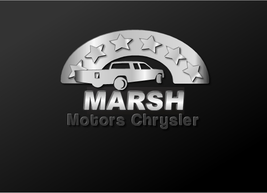 Logo Design by Ismail Adhi Wibowo - Entry No. 10 in the Logo Design Contest Marsh Motors Chrysler Logo Design.