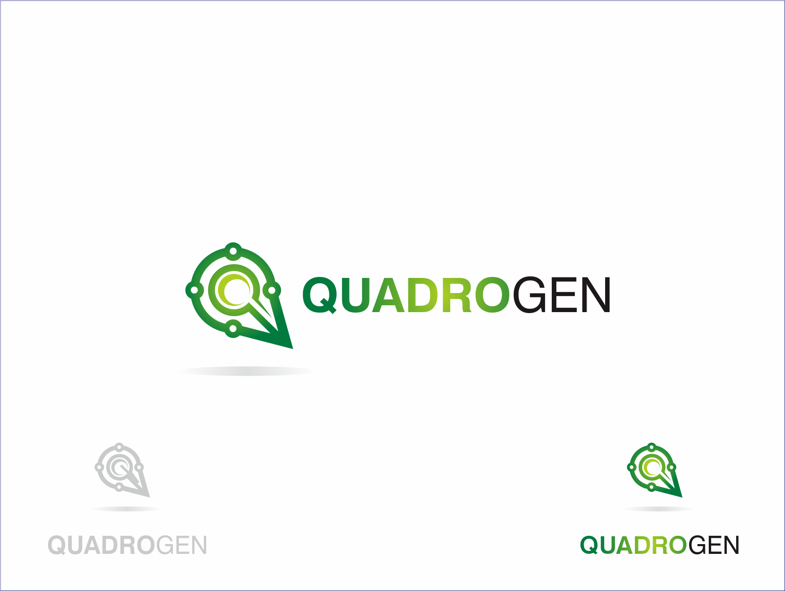 Logo Design by Armada Jamaluddin - Entry No. 159 in the Logo Design Contest New Logo Design for Quadrogen Power Systems, Inc.